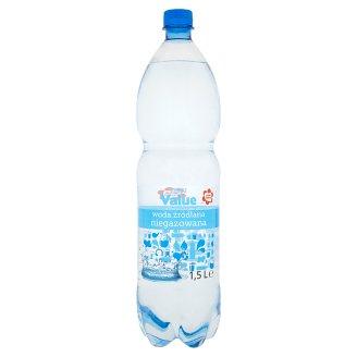 Tesco Value Woda źródlana niegazowana 1,5 l