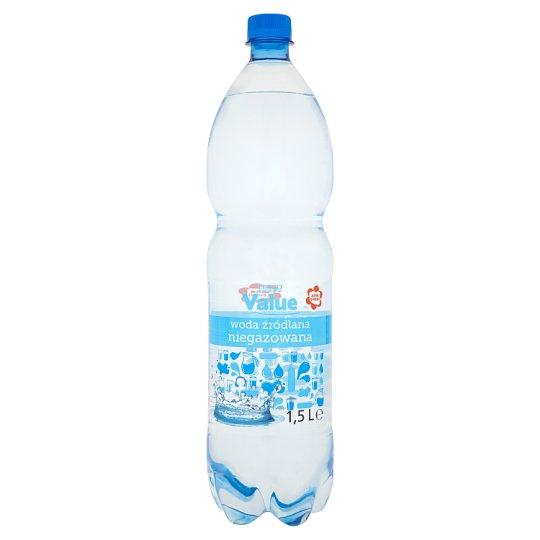 Tesco Value Still Spring Water 1.5 L