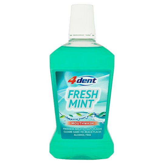 4Dent Fresh Mint Płyn do płukania jamy ustnej 500 ml