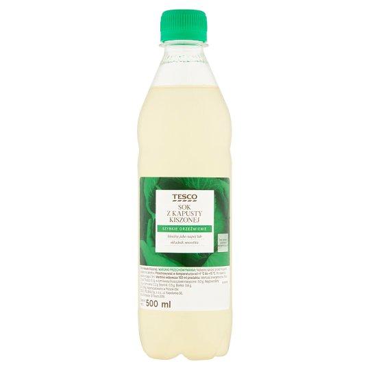 Tesco Sok z kapusty kiszonej 500 ml
