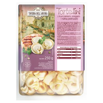 Taverna Dell'Ancora Tortellini with Chicken Oregano and Parsley 250 g