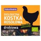 NaturAvena Chicken Organic Bouillon Cubes 60 g (6 x 10 g)
