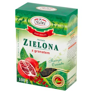 Malwa Green Tea with Pomegranate 100 g
