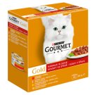 Gourmet Gold Pieces in Gravy Complete Food for Adult Cats 8 x 85 g