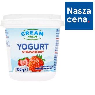 Cream Fields Jogurt truskawkowy 330 g