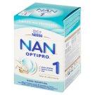 NAN OPTIPRO 1 Mleko początkowe w proszku dla niemowląt od urodzenia 800 g (2 x 400 g)