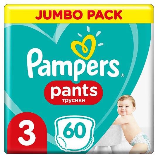 Pampers Pants, Rozmiar 3, 60 Pieluchomajtek