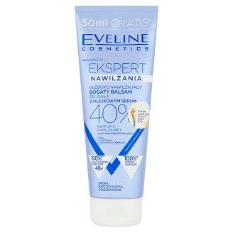 Eveline Cosmetics Ekspert Głęboko nawilżający bogaty balsam do ciała z olejkowym serum 250 ml