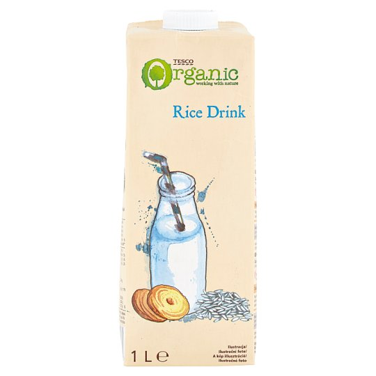 Tesco Organic Rice Drink 1 L