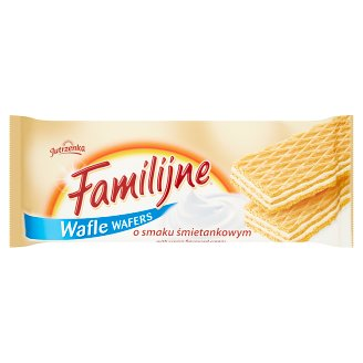 Familijne Wafers with Cream Flavoured Cream 180 g