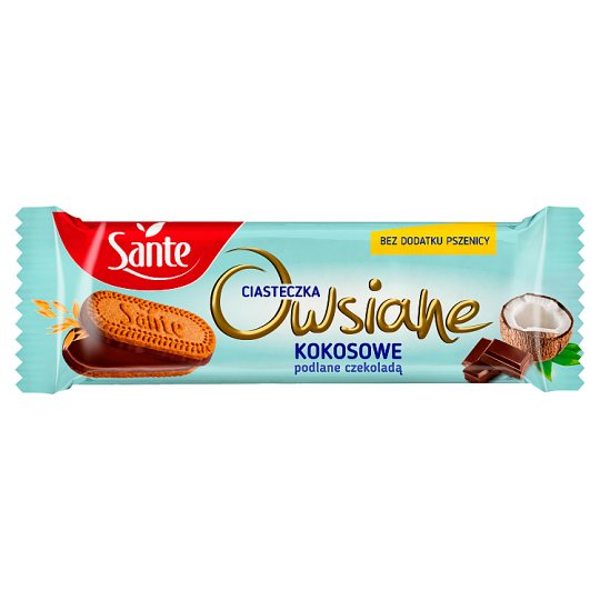 Sante Niezłe Ciacho Coconut Chocolate Coated Oatmeal Cookies 38 g