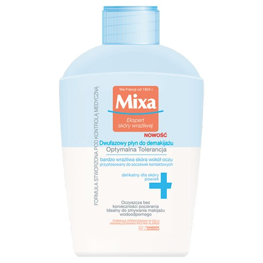 Mixa Optimal Tolerance Two-phase Liquid Make-up Remover 125 ml