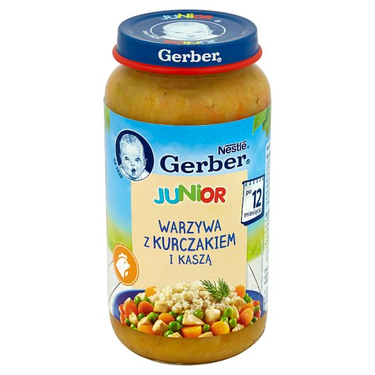 Gerber Junior Vegetables with Chicken and Pearl Barley after 12 Months Onwards 250 g