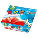Bakoma Bakuś Strawberry Flavour Fromage Frais 240 g (4 Pieces)