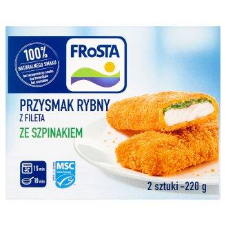 FRoSTA Przysmak rybny z fileta ze szpinakiem 220 g (2 sztuki)