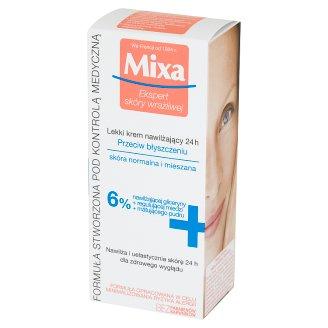 Mixa Lekki krem nawilżający 24 h przeciw błyszczeniu 50 ml