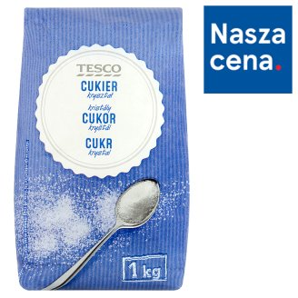 Tesco Crystal Sugar 1 kg