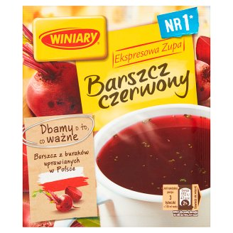 Winiary Ekspresowa zupa Barszcz czerwony instant 60 g