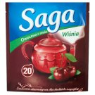 Saga Herbatka owocowa o smaku wiśnia 34 g (20 torebek)