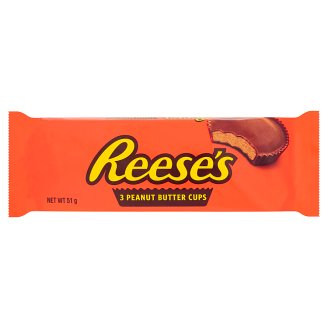 Reese's Peanut Butter Cups 51 g (3 Pieces)