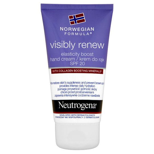 NEUTROGENA Visibly Renew Elasticity Boost Hand Cream SPF 20 75 ml