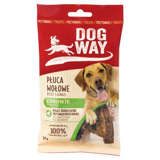 Dogway Zdrowie Przysmak dla psa płuca wołowe 30 g