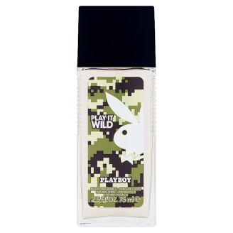 Playboy Play It Wild Body Fragrance Natural Spray for Him 75 ml