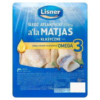 Lisner a'la Matjas Herring Fillets in Oil 750 g