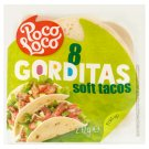 Poco Loco Gorditas  Soft Tacos 272 g (8 Pieces)