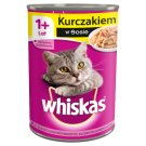 Whiskas 1+ Year Complete Cat Food with Chicken in Sauce 400 g