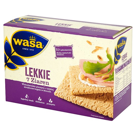 Wasa Crisp'n Light 7 Grains Bread 140 g