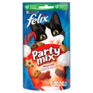 Felix Party Mix Mixed Grill Beef Chicken and Salmon Flavoured Supplementary Food 60 g