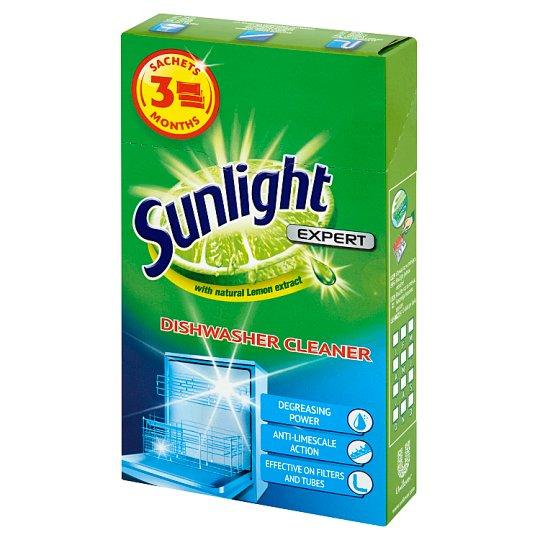 Sunlight Expert Dishwasher Cleaner 120 g (3 Pieces)