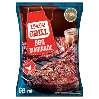 Tesco Grill Meat Liquid BBQ Marinade with Aromatic Spieces 66 ml