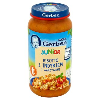 Gerber Junior Risotto with Turkey and Vegetables after 12 Months Onwards 250 g