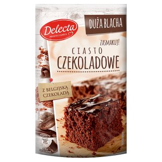 Delecta Duża Blacha Chocolate Powdered Cake 670 g