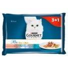 Gourmet Perle Morski Duet Pełnoporcjowa karma dla dorosłych kotów 4 x 85 g