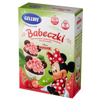 Gellwe Disney Minnie Cupcakes with Fairytale Cream and Sprinkles 234 g