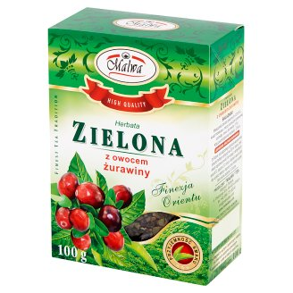 Malwa Green Tea with Cranberry 100 g