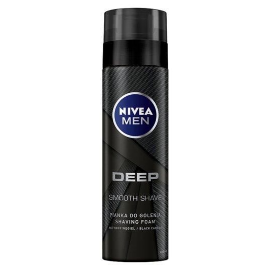 NIVEA MEN Deep Pianka do golenia 200 ml