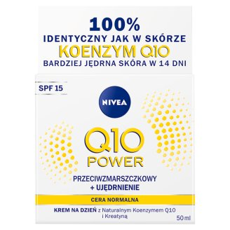 NIVEA Q10 Power Anti-Wrinkle + Firming Moisturizing Day Cream SPF 15 50 ml