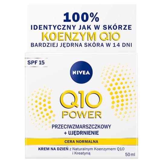 NIVEA Q10 Power Anti-Wrinkle + Firming Moisturizing Day Cream SPF 15 50 ml
