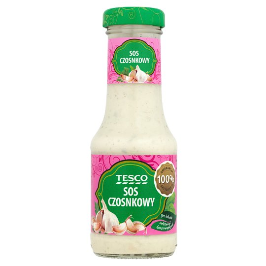Tesco Garlic Sauce 200 ml