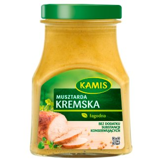 Kamis Kremska Mustard 185 g