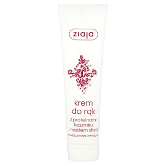 Ziaja Hand Cream with Cashmere Proteins and Shea Butter 100 ml