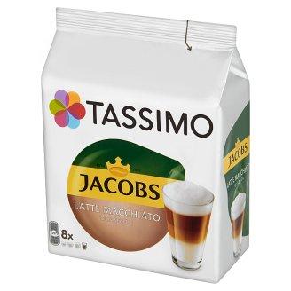 Tassimo Jacobs Latte Macchiato Classico Ground Coffee 8 Capsules and Milk Drink 8 Capsules 264 g