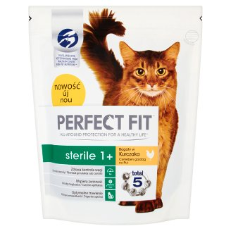 Perfect Fit Sterile 1+ Complete Pet Food for Adult Cats 750 g
