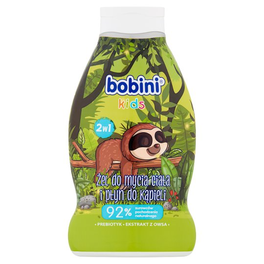 Bobini Cool Citrus Bathing Liquid and Body Washing 2w1 660 ml