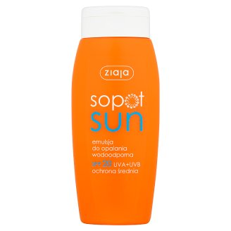 Ziaja Sopot Sun Waterproof Suntan Lotion SPF 20 150 ml
