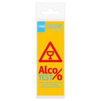 Domowe Laboratorium AlcoTest Jednorazowy test do badania zawartości alkoholu